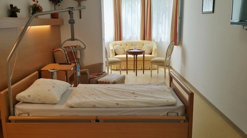 Foto eines Zimmers